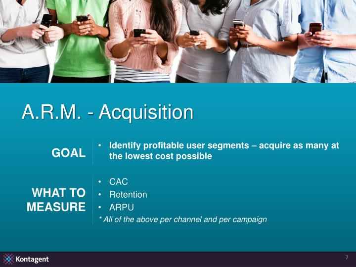 A.R.M. - Acquisition