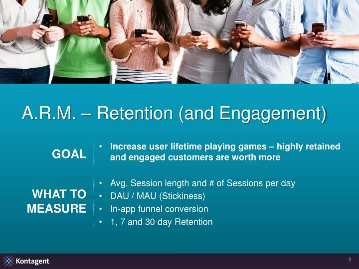 A.R.M. – Retention (and Engagement)