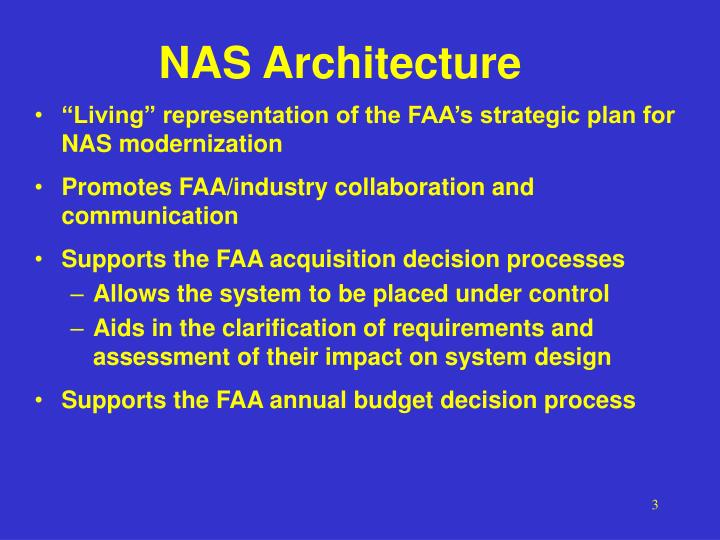 NAS Architecture