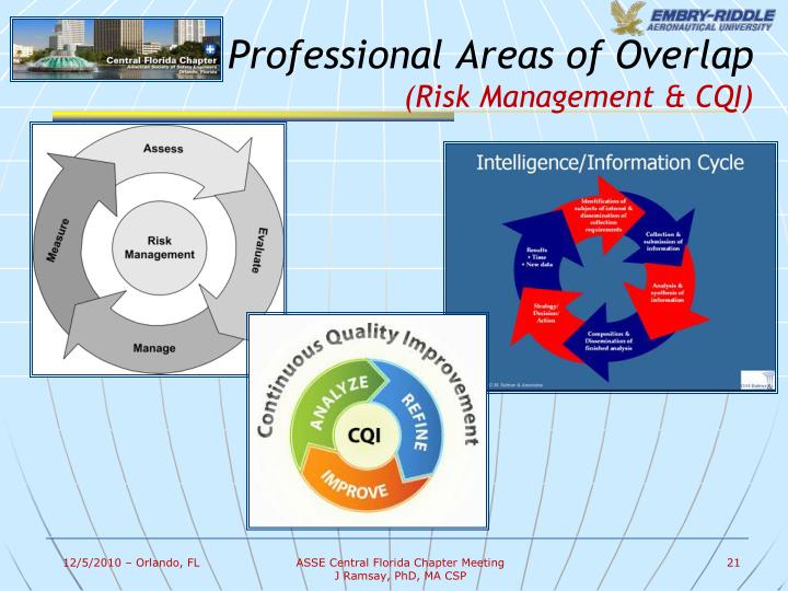 Professional Areas of Overlap