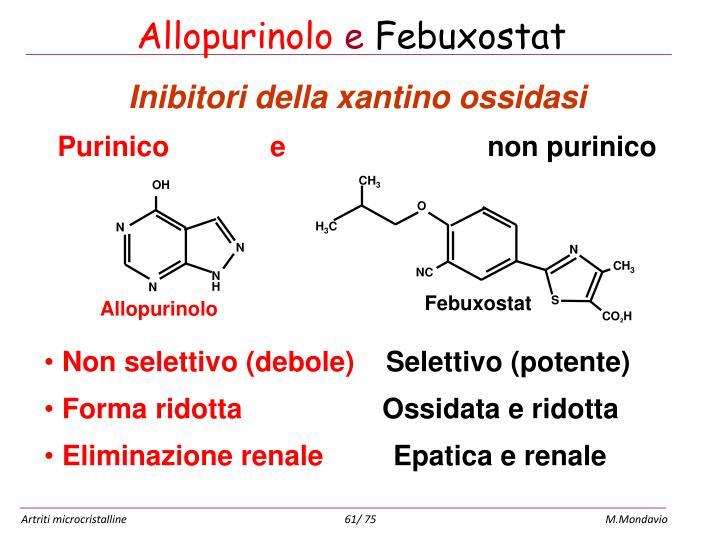 Allopurinolo