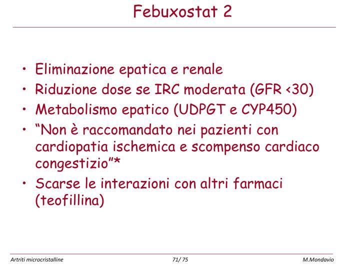 Eliminazione epatica e renale