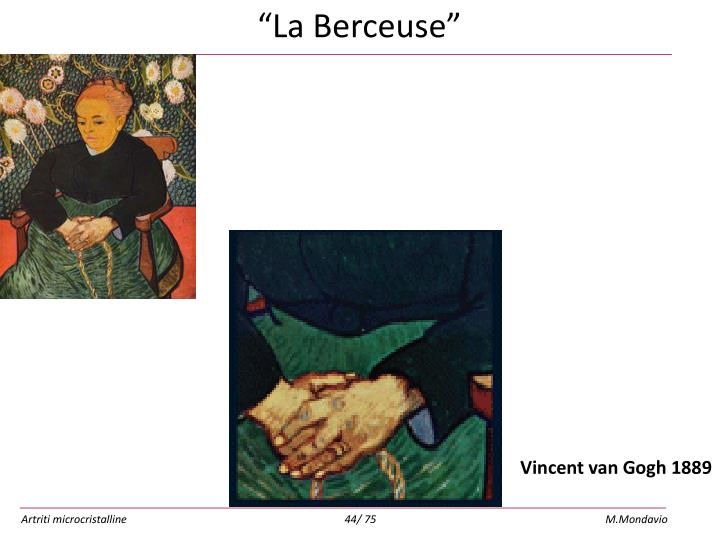 """La Berceuse"""