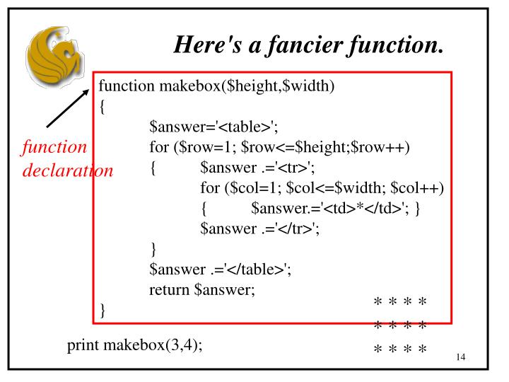 Here's a fancier function.