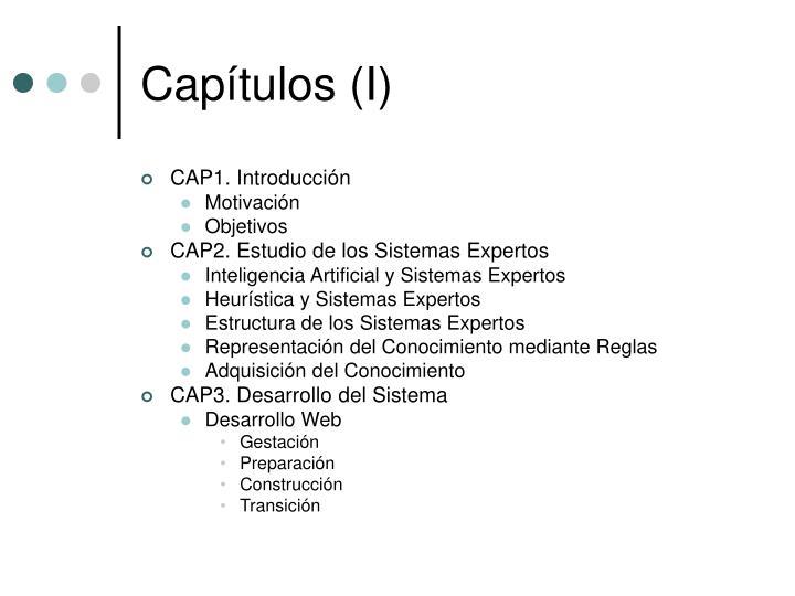 Capítulos (I)