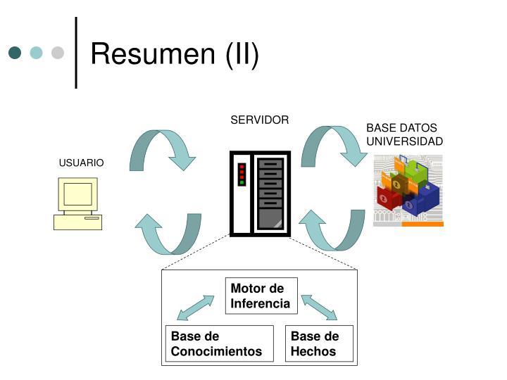 Resumen (II)