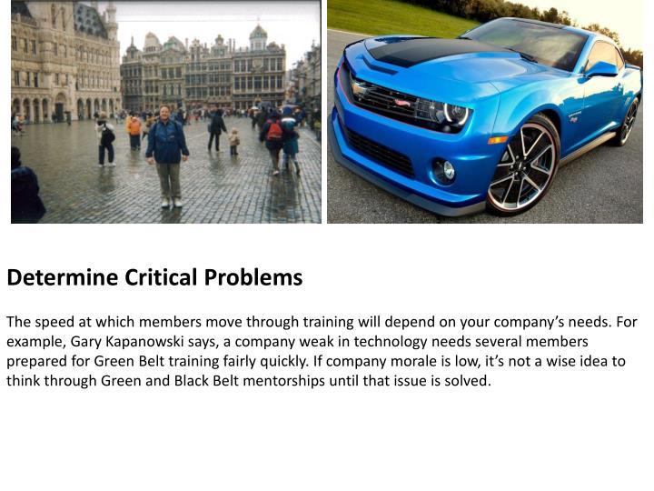 Determine Critical Problems