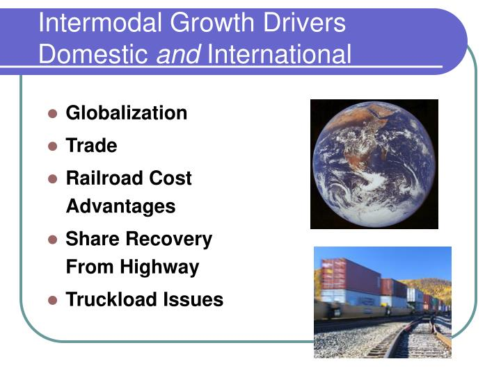 Intermodal Growth Drivers
