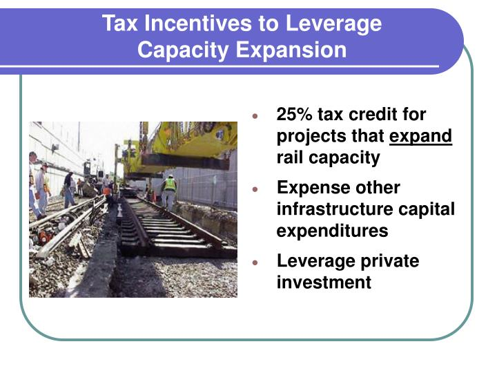 Tax Incentives to Leverage
