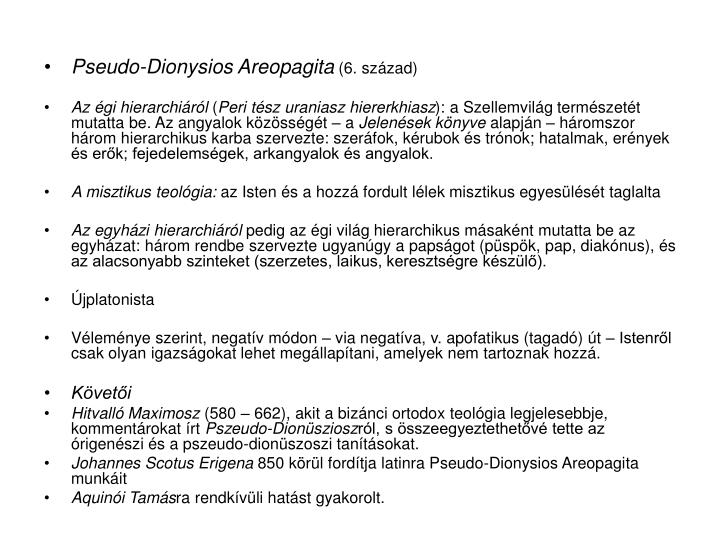Pseudo-Dionysios Areopagita