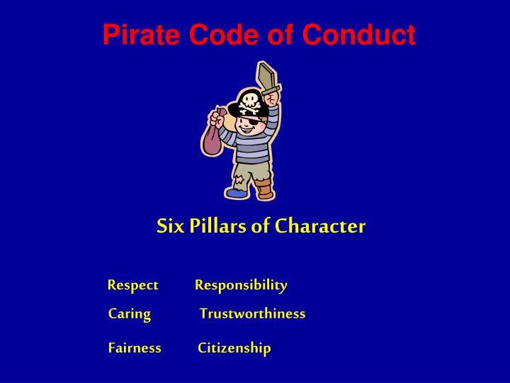 Pirate Code of Conduct