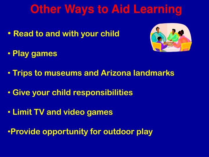 Other Ways to Aid Learning