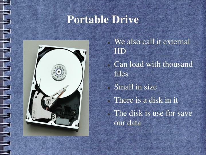 Portable Drive