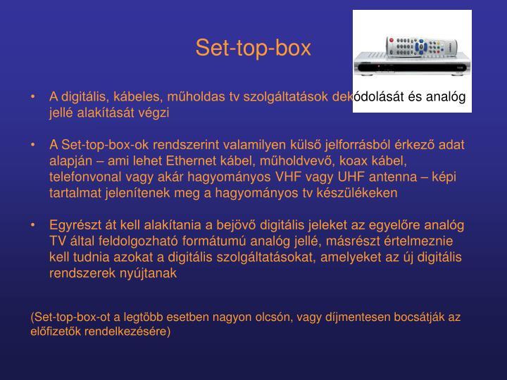 Set-top-box