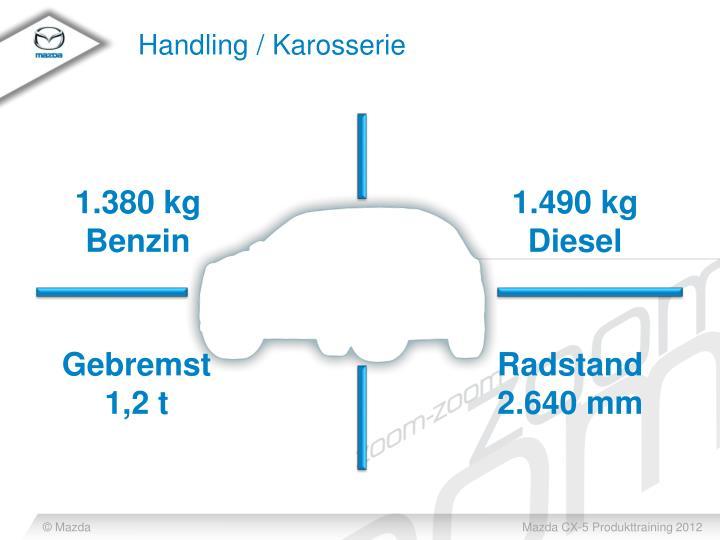 Handling / Karosserie
