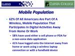 mobile population