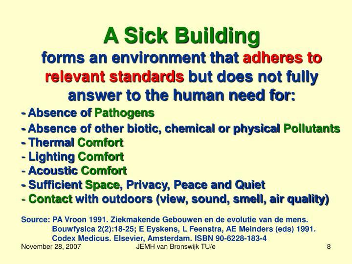 A Sick Building