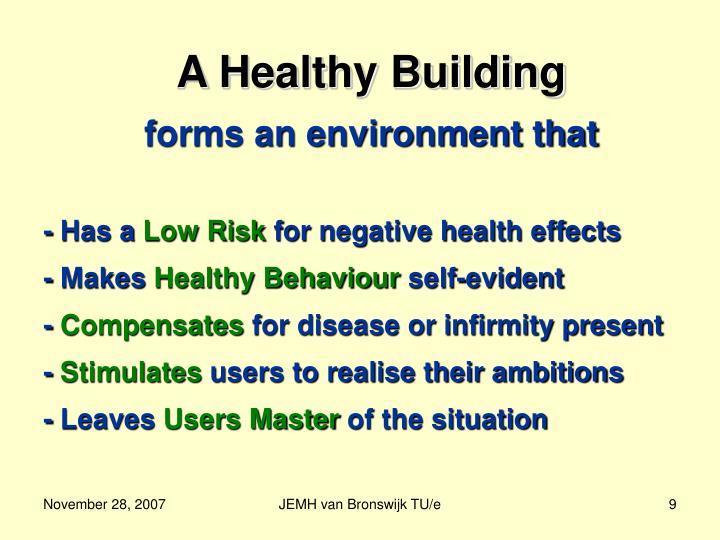 A Healthy Building