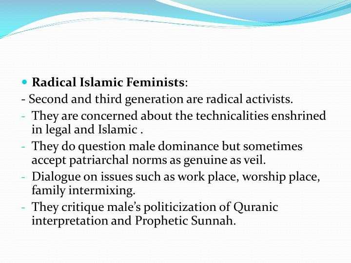 Radical Islamic Feminists