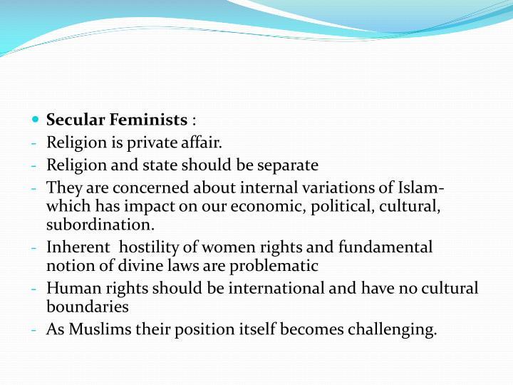 Secular Feminists