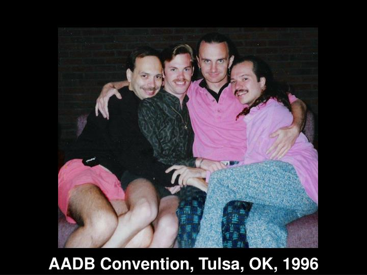 AADB Convention, Tulsa, OK, 1996