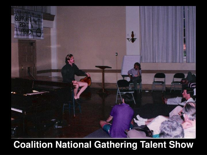 Coalition National Gathering Talent Show