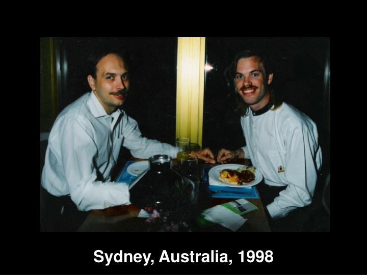 Sydney, Australia, 1998