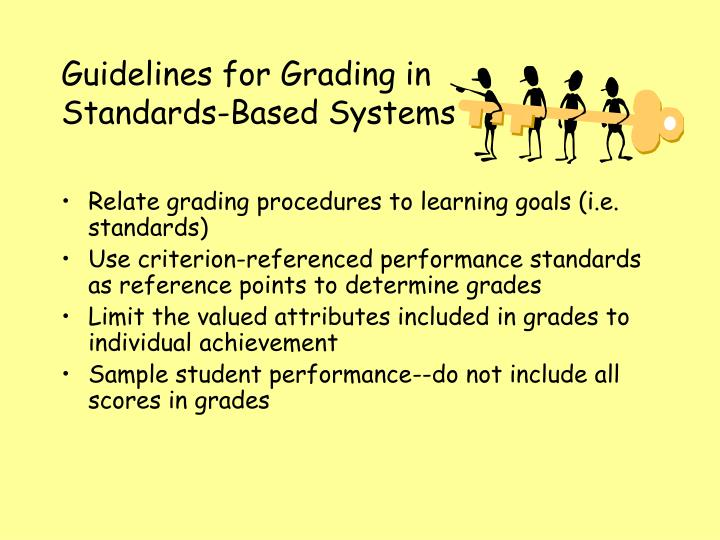 Guidelines for Grading in