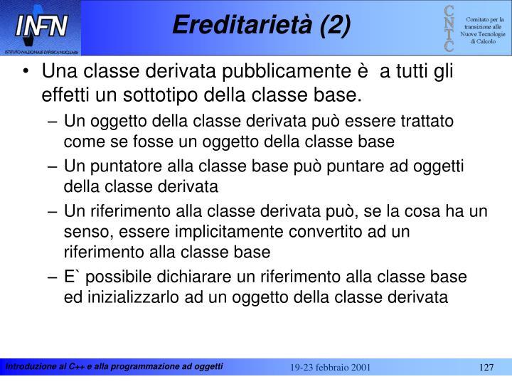 Ereditarietà (2)