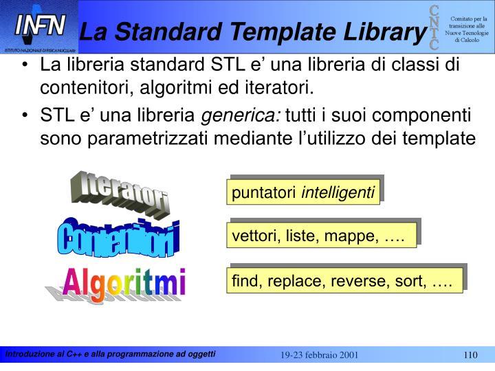 La Standard Template Library