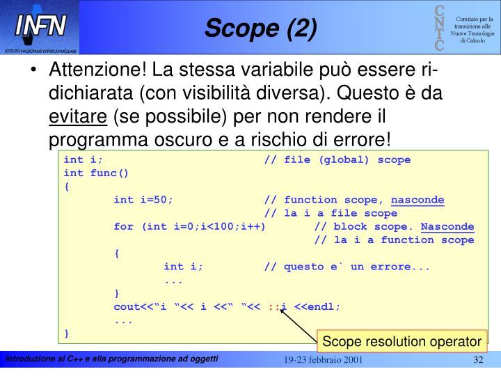 Scope (2)