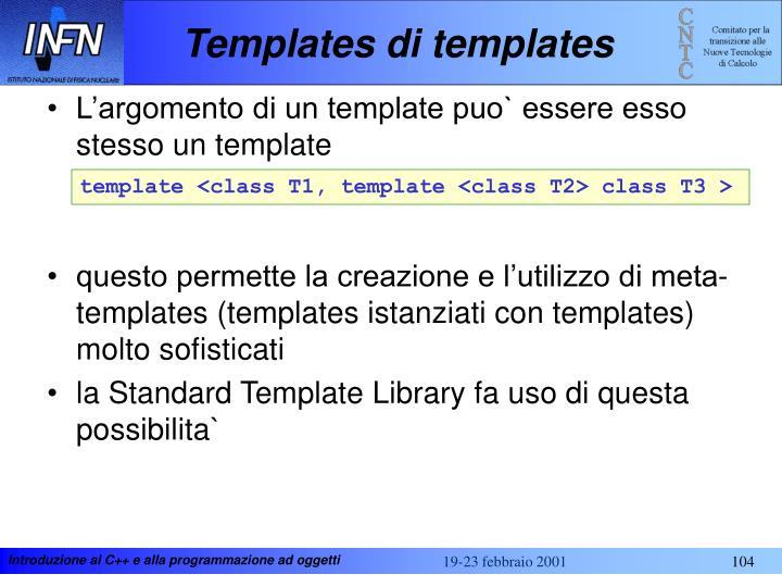 Templates di templates