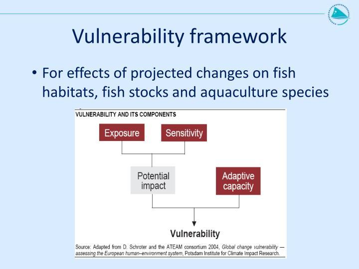 Vulnerability framework