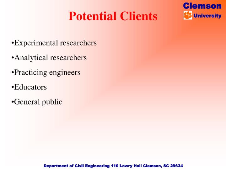 Experimental researchers