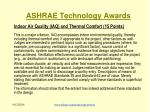 ashrae technology awards11