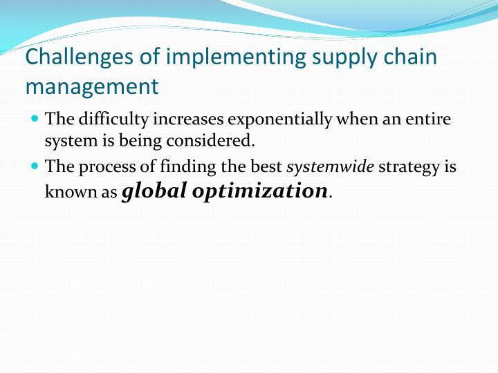 challenges of global supply chain management Professor martin christopher focuses on the major supply chain challenges that face managers in these uncertain and turbulent times  supply chain management key challenges  why supply chain .