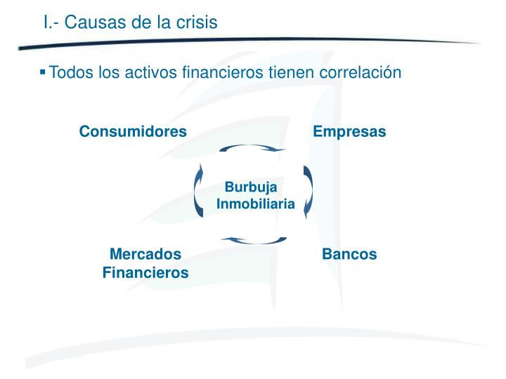 I.- Causas de la crisis