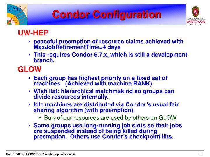 Condor Configuration