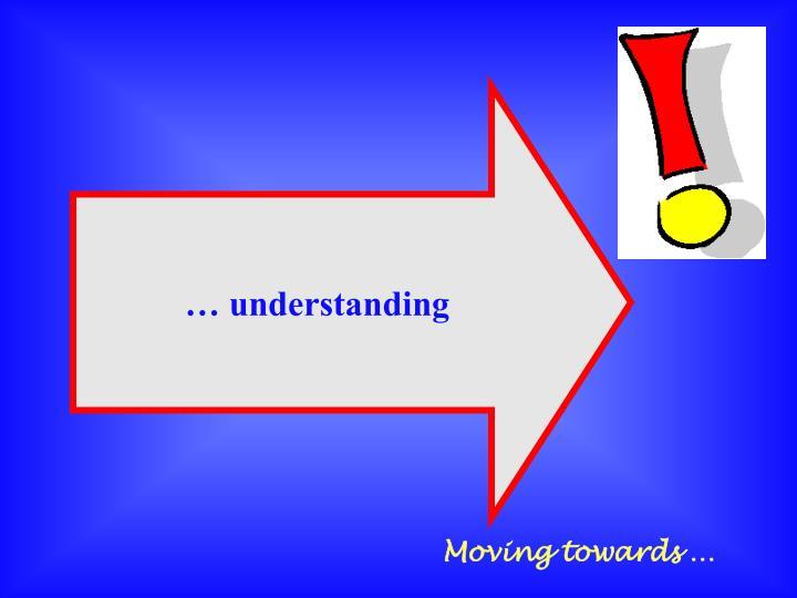 … understanding