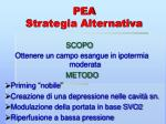 pea strategia alternativa