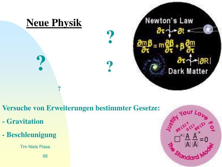Neue Physik
