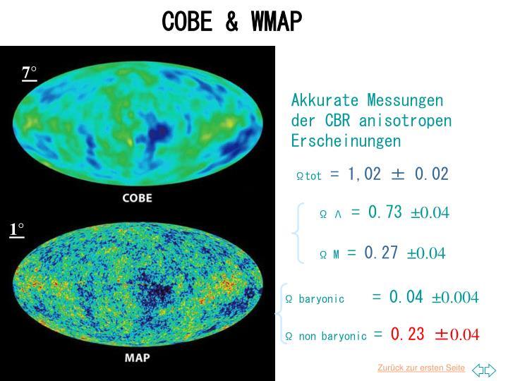COBE & WMAP
