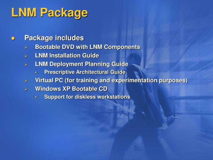 LNM Package