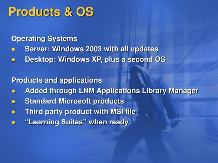 Products & OS