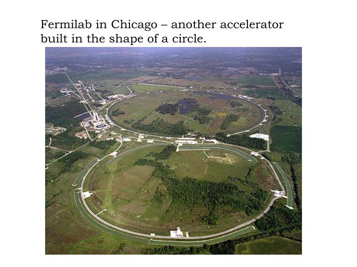 Fermilab in Chicago – another accelerator