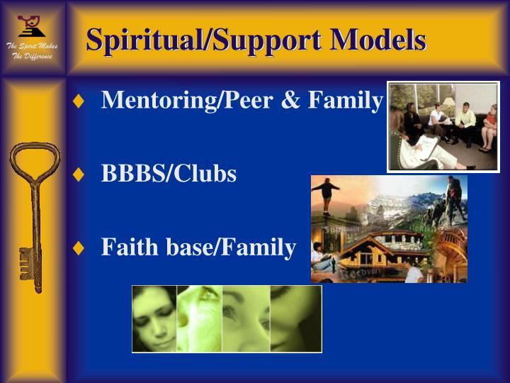 Spiritual/Support Models