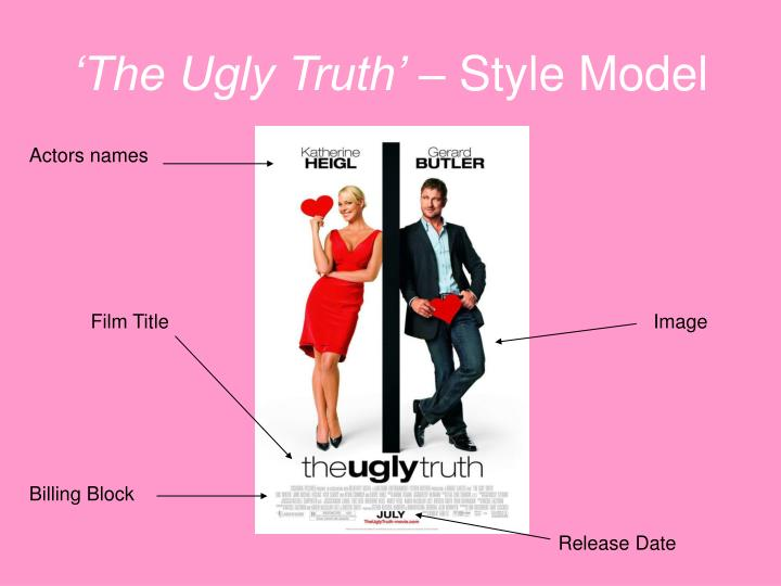 The ugly truth style model