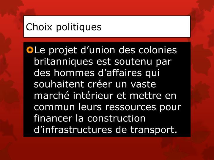 Choix politiques