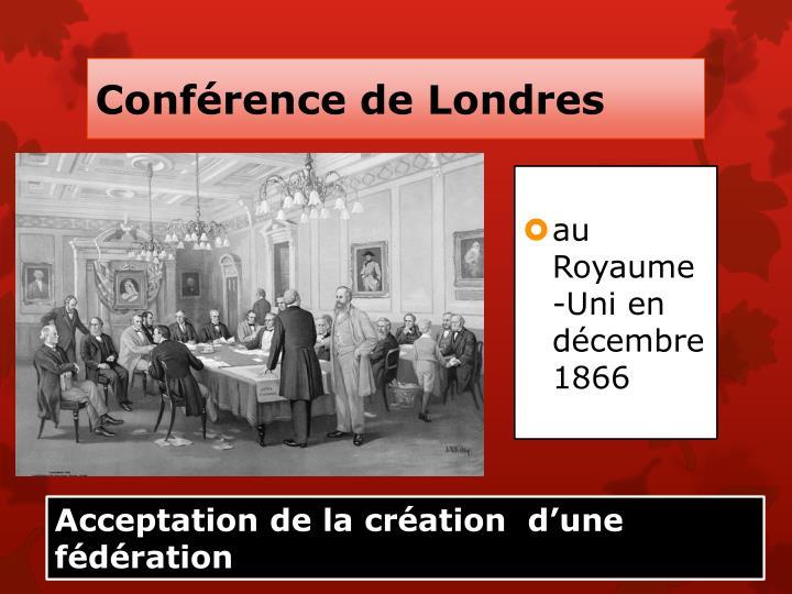 Conférence de Londres