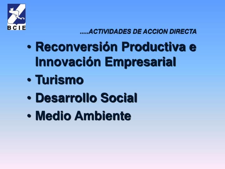 Reconversión Productiva e Innovación Empresarial